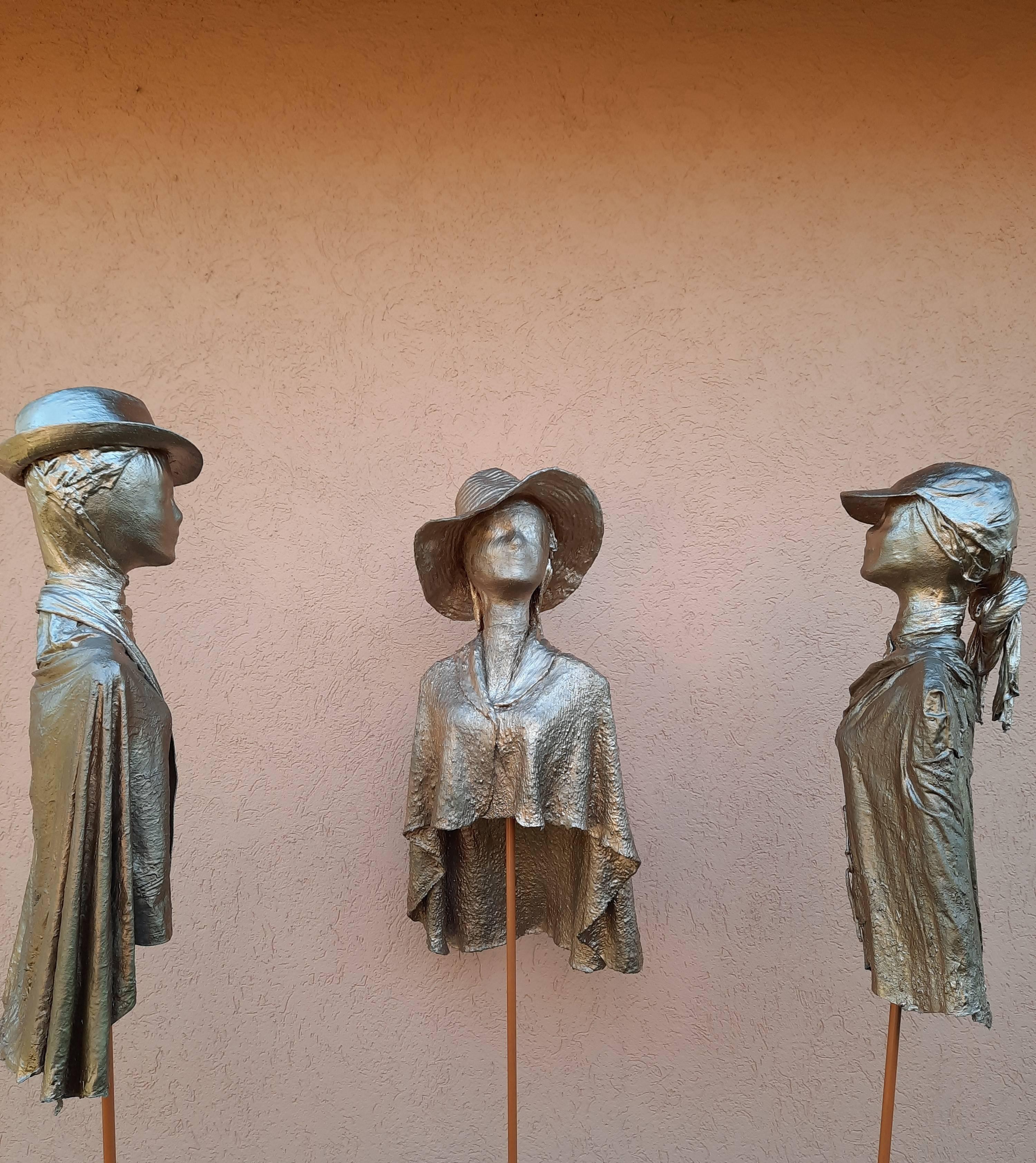 Drei Damen im Gespräch - Manfred Großmann