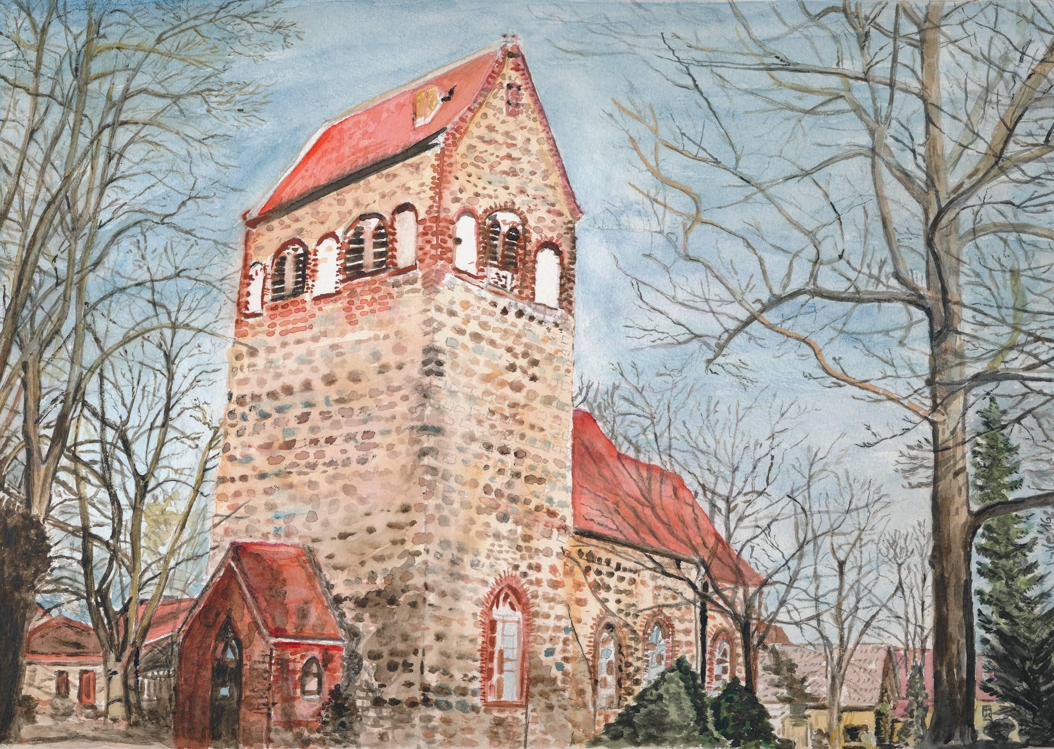 Dorfkirche Hönow - Hannelore Toetzke