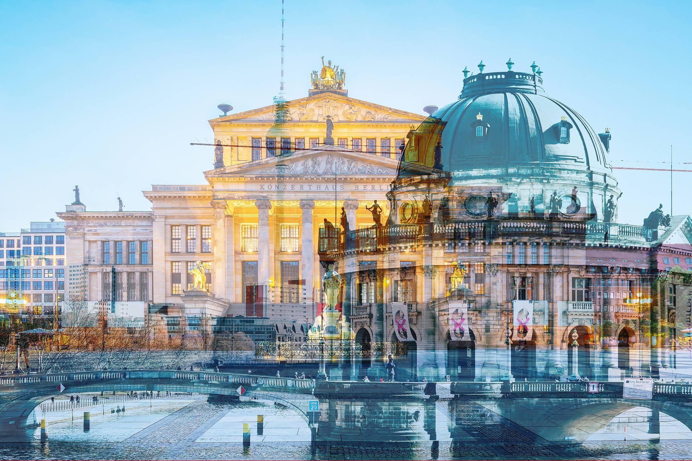 Bodemuseum/ Gendarmenmarkt - Andrea von Melms