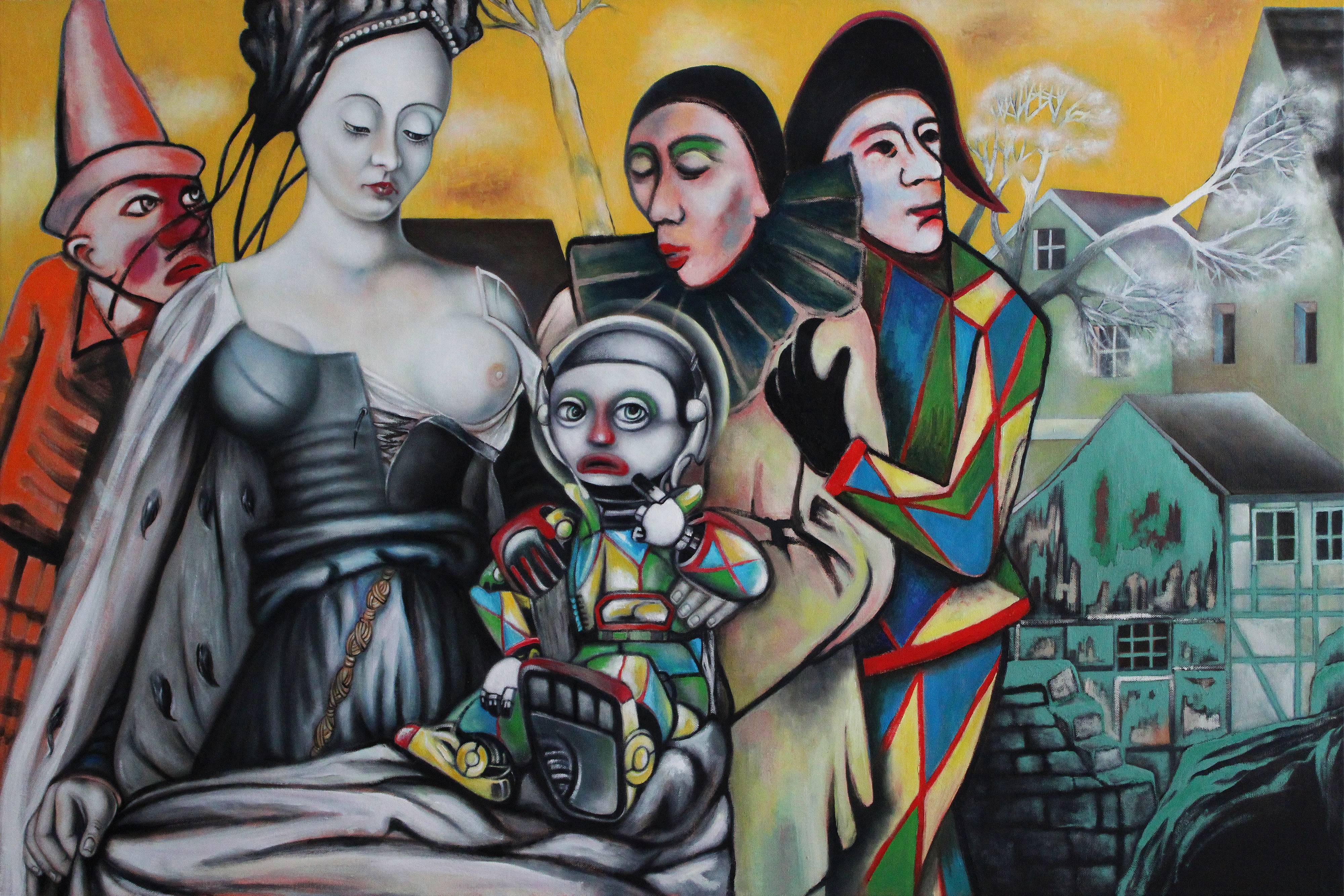 ANDREAS ZIMMERMANN: Familienaufstellung